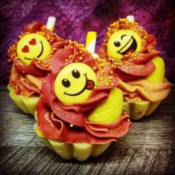 cupcake fruits éxotiques